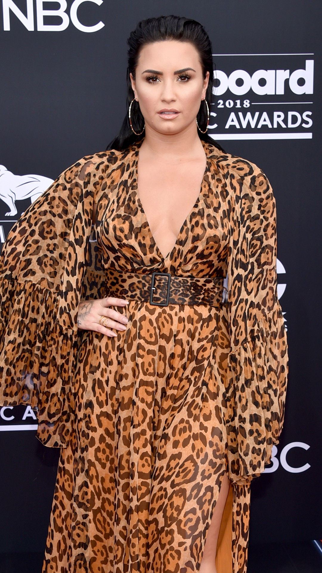 Demi Lovato, 2018 Billboard Music Awards, Arrivals